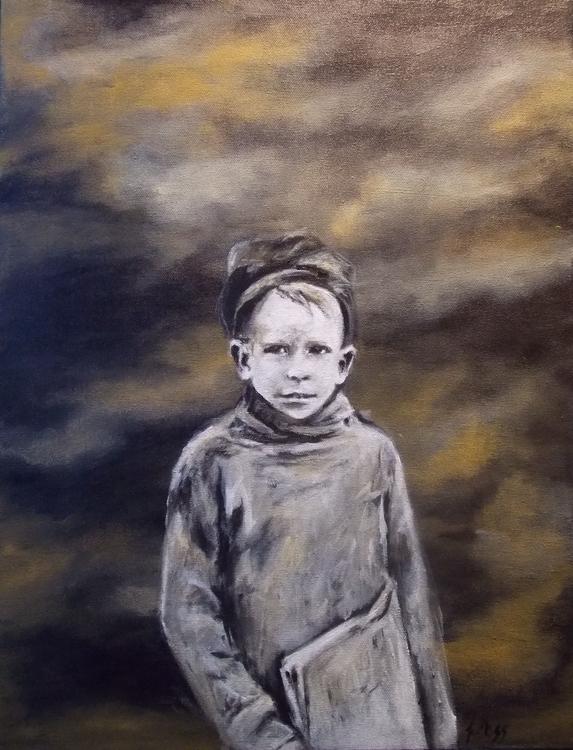 Miles acrylic canvas - jimoss31 | ello