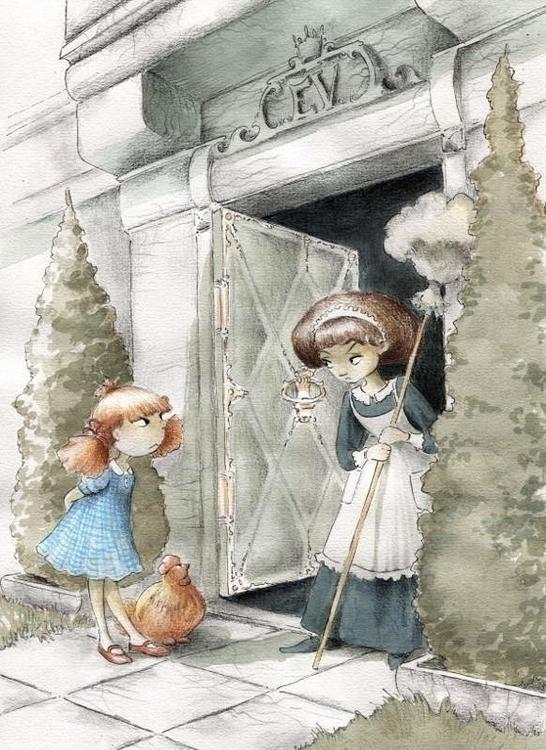 Billina - illustration, fairytale - joannapasek | ello