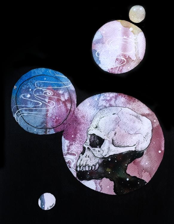Souls Reborn || A4 Watercolour - esutick | ello