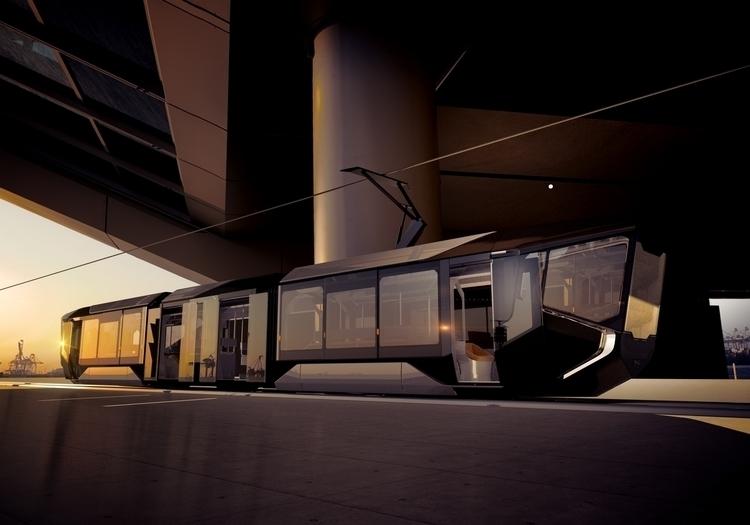 Tram R1. Design modeling Maslov - kobushenko | ello