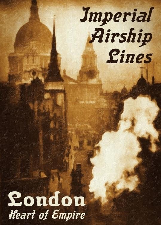 Imperial Airship Lines - Flinch - rasendyll | ello