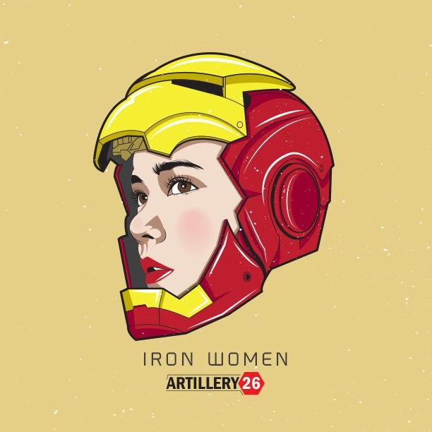 Iron Women - ironman, marvel, women - artillery26 | ello