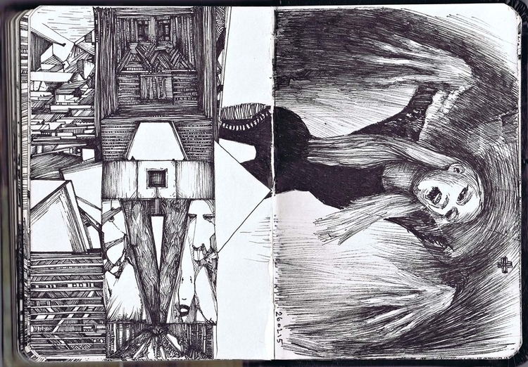 260215 - illustration, drawing, sketchbook - murdoch-7175 | ello