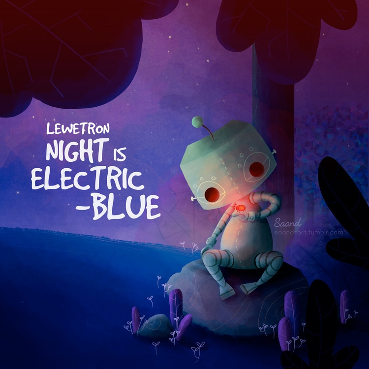Cover art album Night Electric - saand | ello
