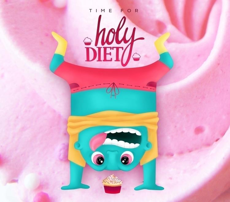 TIME HOLY DIET - illustration - ivana-7596   ello