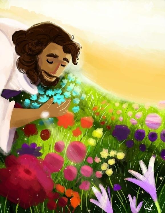 Resurrection Day - illustration - unicorndoodles | ello