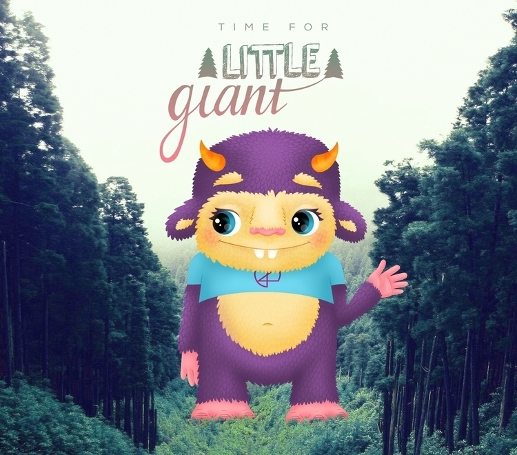 TIME GIANT - illustration - ivana-7596 | ello