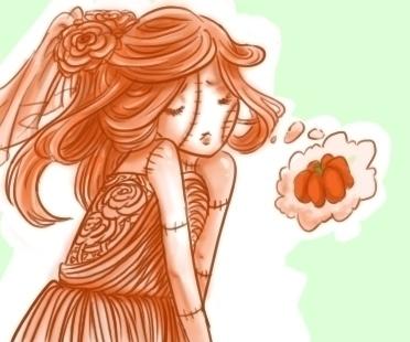 October 31, Orange Lolita Pumpk - donamarie | ello