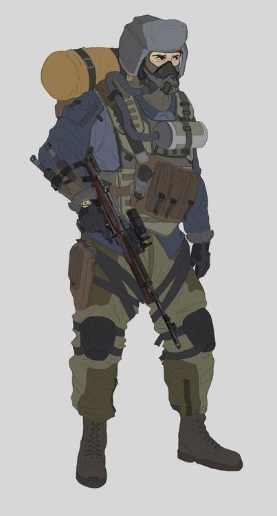 characterdesign, conceptart, design - will_jinho_bik | ello