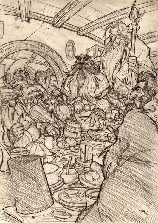 Hobbit - Dwarfs - thehobbit, dwarfs - denismedri | ello