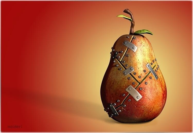 Wounded Pear - conceptart, design - haido-5826 | ello