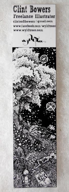 Tree Bookmark - bookmark, tree, book - wyldtrees   ello