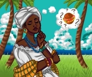 Lolita Bahian Culture Lolita - illustration - donamarie | ello