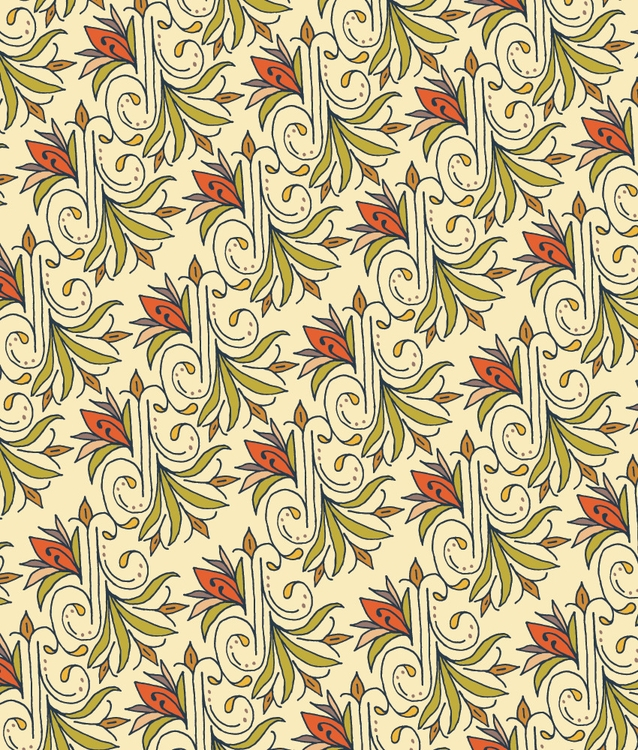 pattern - floral, flourishes, handdrawn - katewhitley | ello