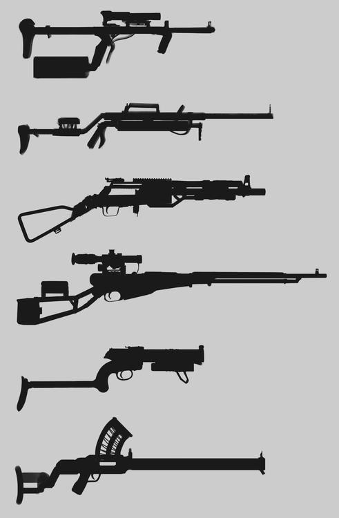 conceptart, conceptdesign, gun - will_jinho_bik | ello