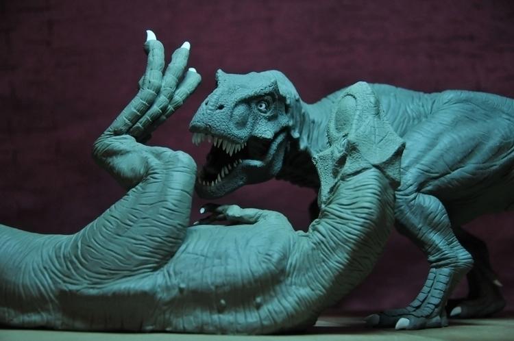 fighting scene Sculpted Kéri Ti - heliot-4253 | ello