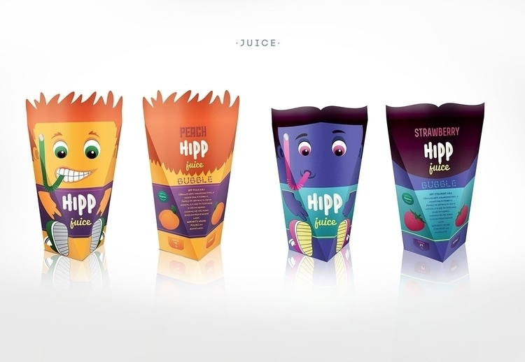 HIPP JUICE - illustration, design - ivana-7596 | ello