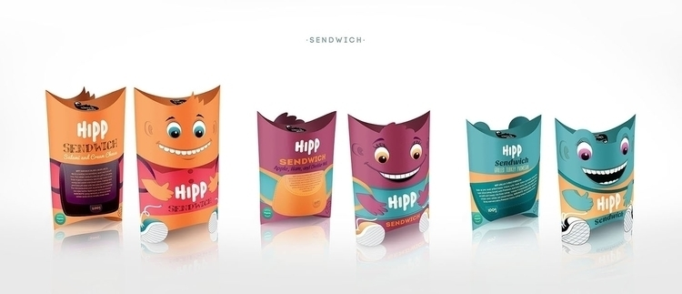 HIPP SENDWICH - illustration, design - ivana-7596 | ello