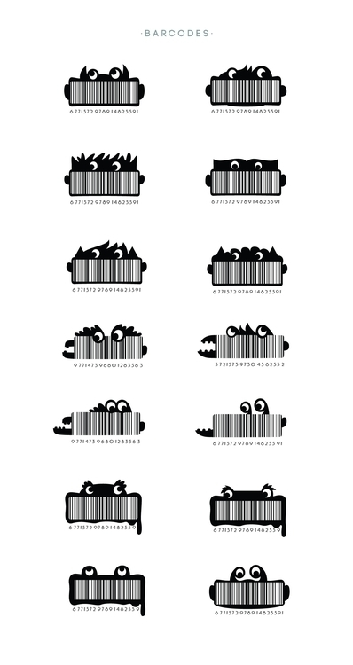 HIPP BARCODES - illustration, design - ivana-7596 | ello