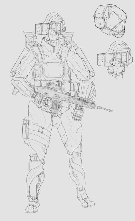 Hansel GSG9 - conceptart, conceptdesign - will_jinho_bik | ello