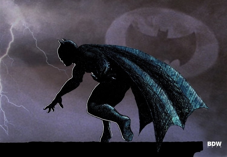 Batman - batman, dccomics - mekanik32 | ello