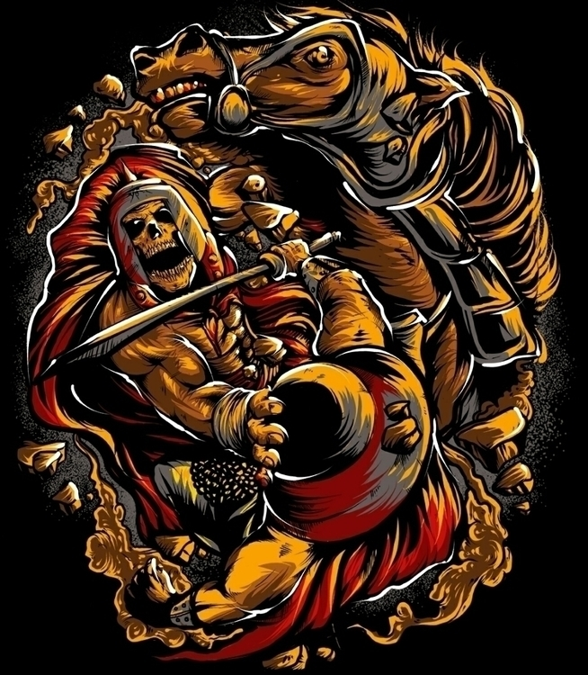 Spartan - illustration, digitalart - swodshit | ello