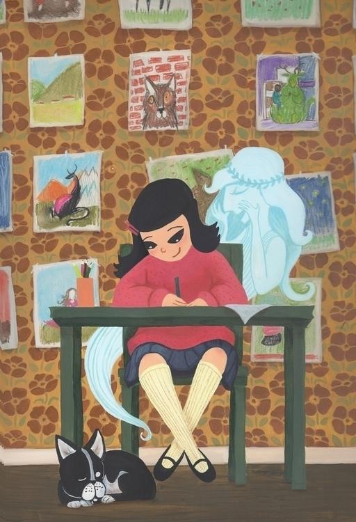 muse work - illustration, children'sillustration - beth-6270   ello
