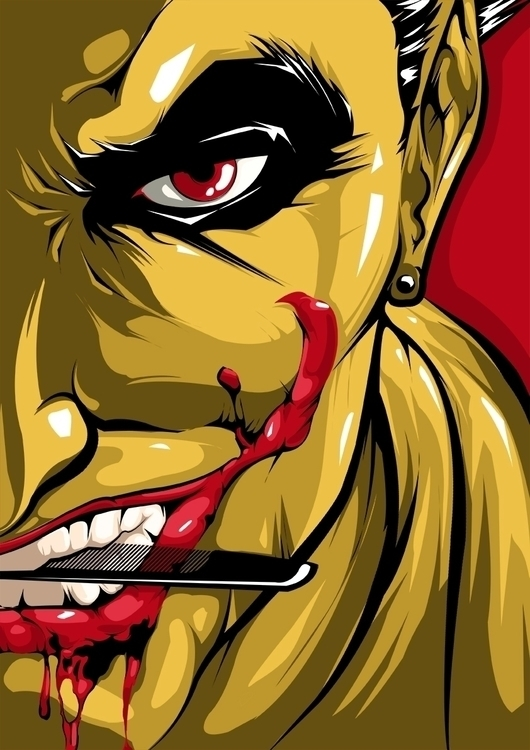 Joker - vector, vectorart, illustration - swodshit | ello