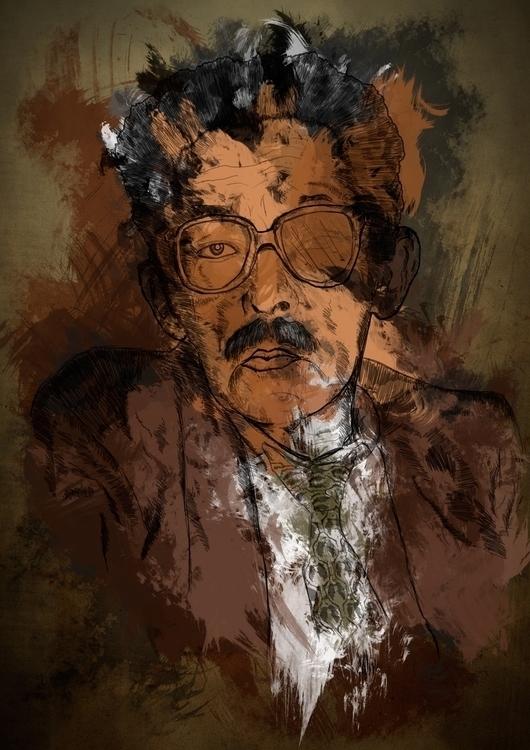 Illustration grandfather pictur - hugofsl | ello