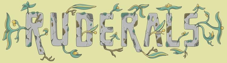 Sticker design Ruderals - Check - sagecotignola | ello