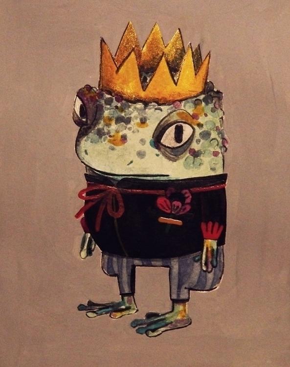 frog prince - frogprince, toad - tanjir | ello