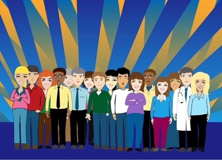 Vector People - illustration, vectorillustration - hr411design | ello