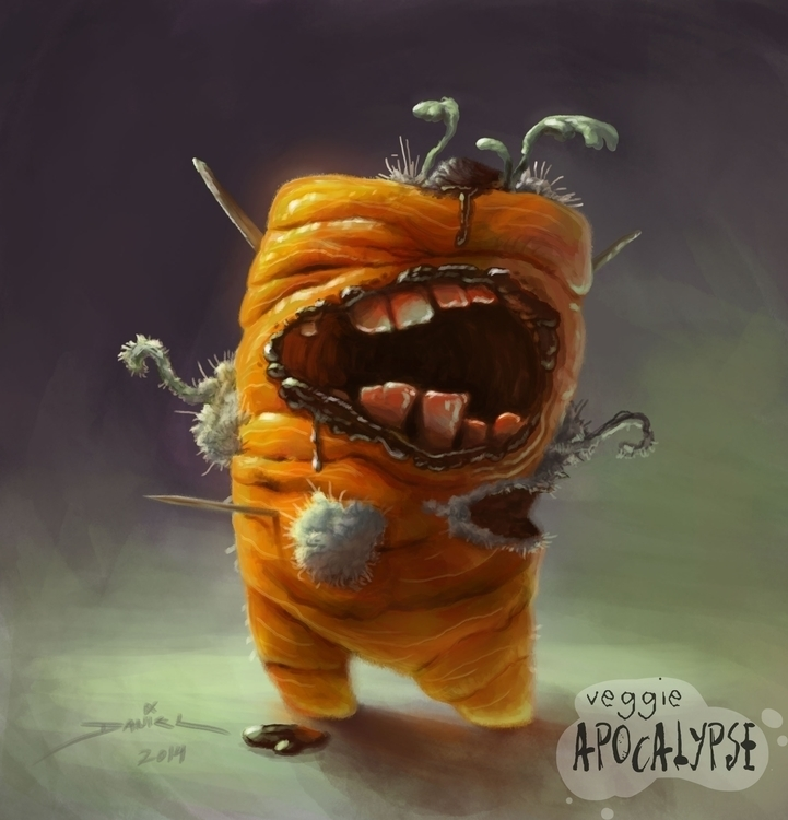 veggie apocalypse monster carro - splinterd | ello
