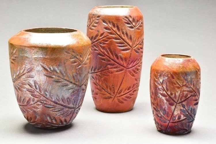 Raku Vases - rosepottery | ello