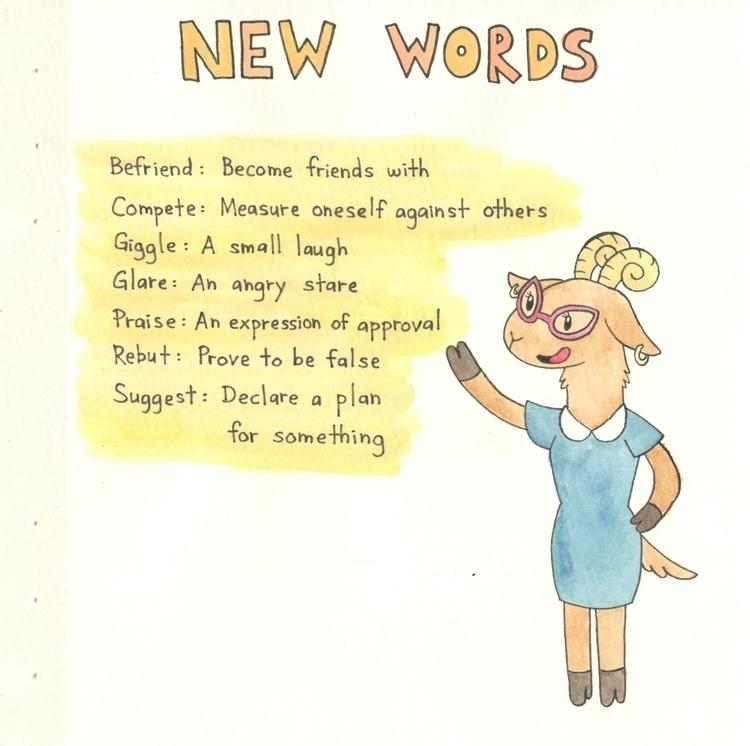 Words - illustration, children'sbook - flowerbanana | ello