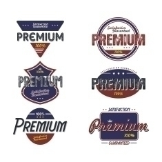 Premium Label Set - illustration - vector1st | ello