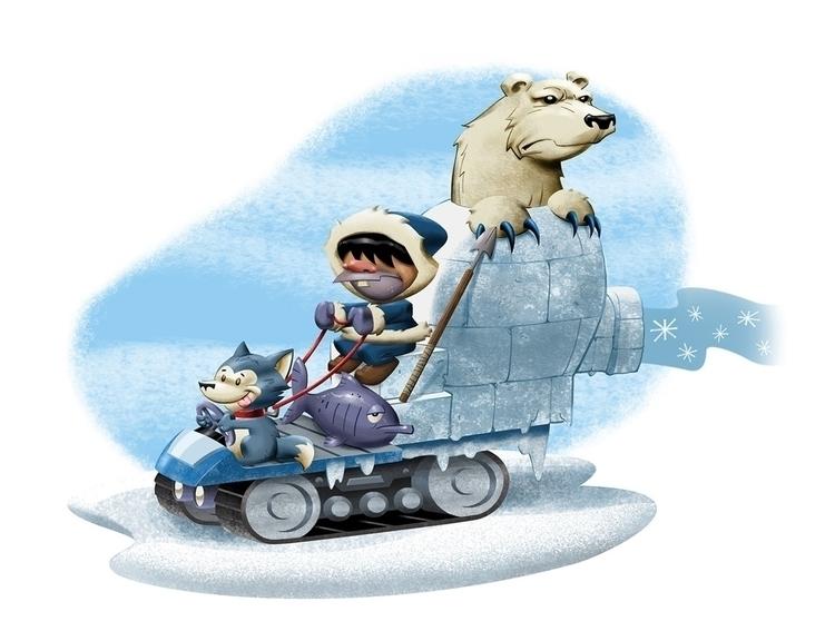 Wacky Racers: Eskimo Joe - wackyracers - tommcweeney | ello