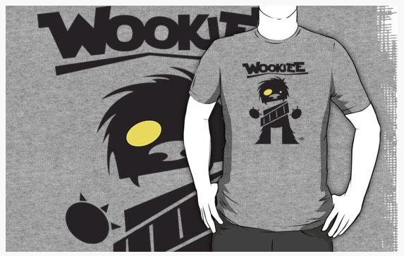 Wookiee - Star Wars fan art tee - inkedsloth | ello