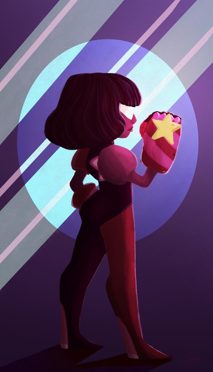 Garnet-Steven Universe - garnet - amdeguire   ello