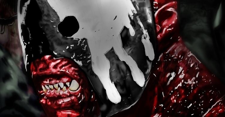 Uruk Hai Digital painting photo - alexanderchalooupka | ello