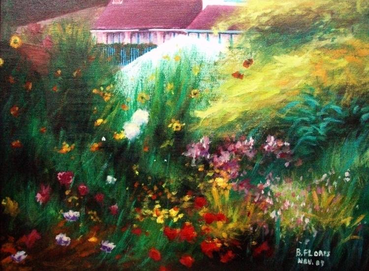 painting, acryliconcanvas - beefeeb | ello