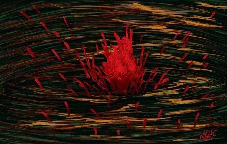 Water Flower - waterflower, flower - donamarie | ello
