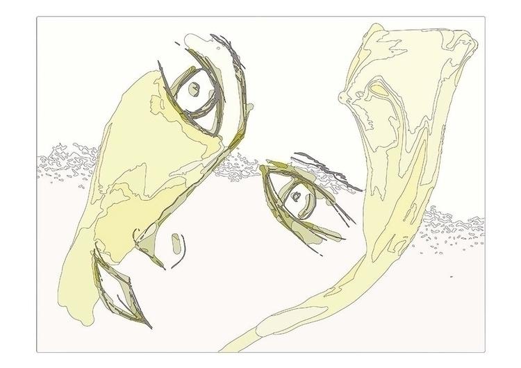 Digital Portrait - painting, drawing - daffkehollstein | ello