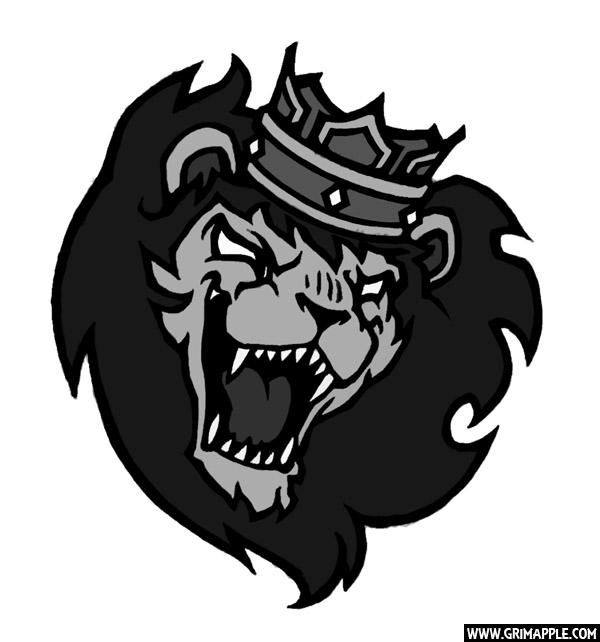King Leo: Tattoo commission, sy - grimapple | ello