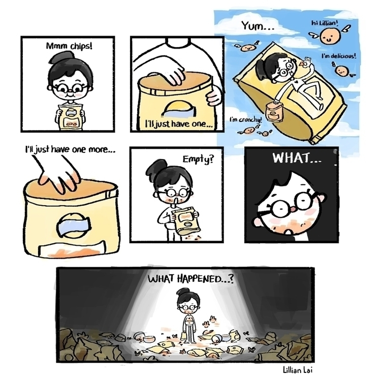 love chips - comics - lillisketch | ello