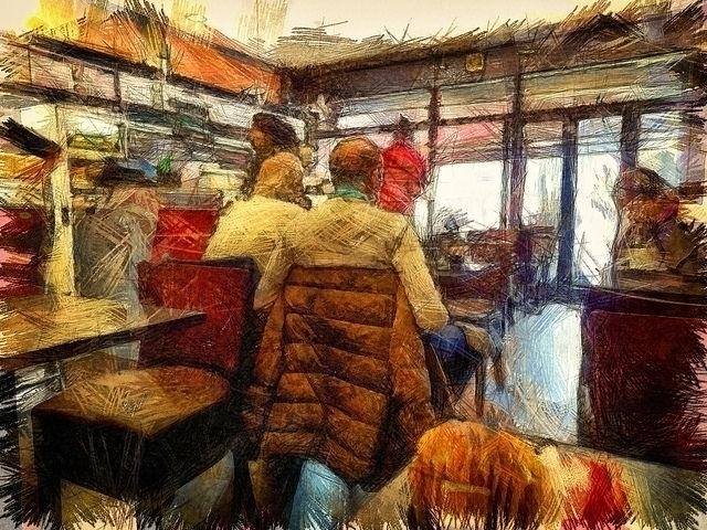 Cafe Break - photography - leighkemp | ello