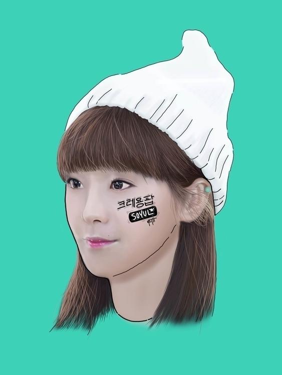 SOYUL | CRAYON POP - illustration - netys | ello