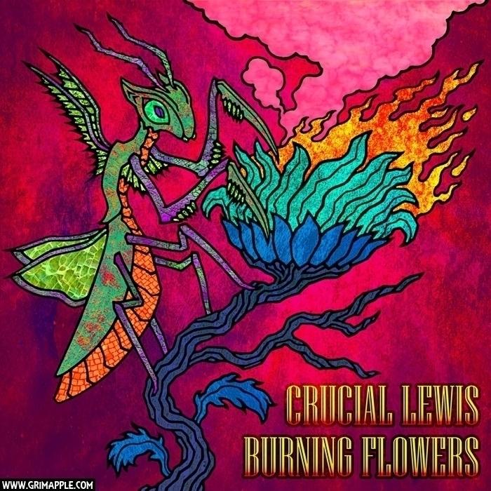 Burning Flowers: Commission Alb - grimapple   ello