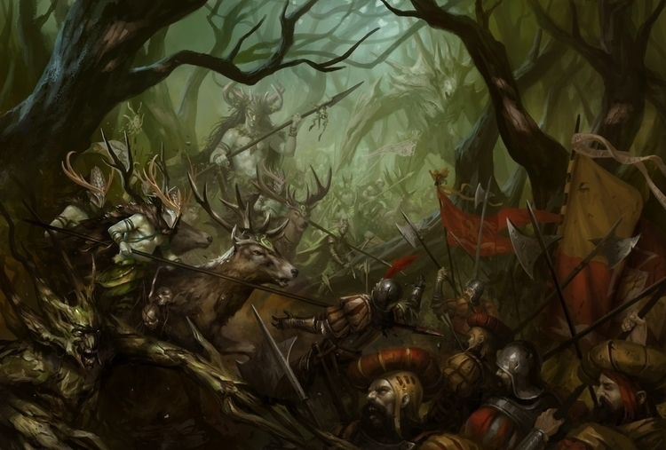 Wood Elves - woodelves, warhammer - daarken | ello