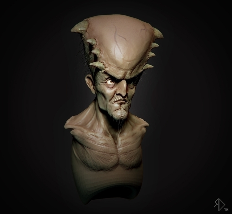 Working character Haloween  - 3d - artefact-2526 | ello
